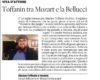 Toffanin tra Mozart e la Bellucci
