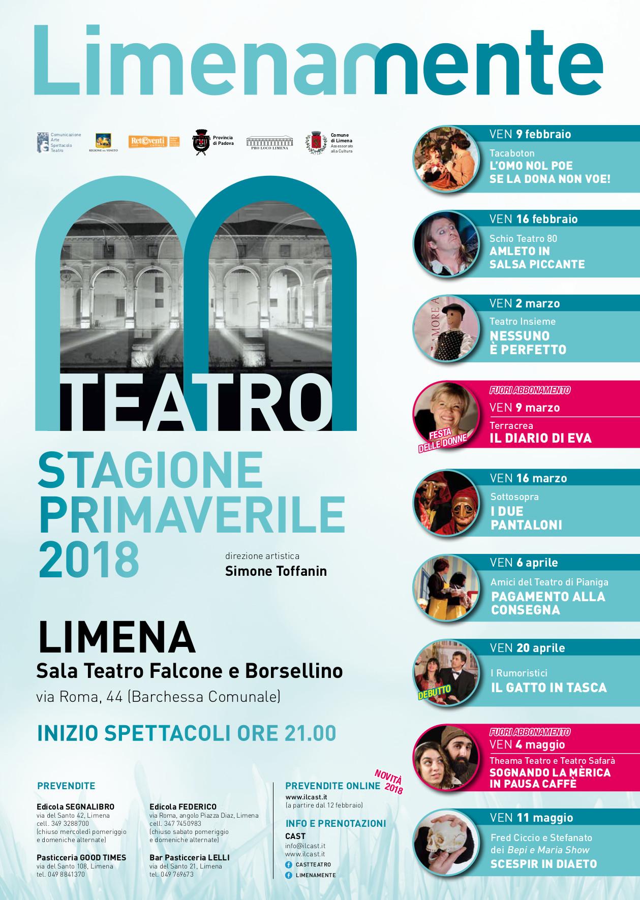 Limenamente Teatro primavera 2018