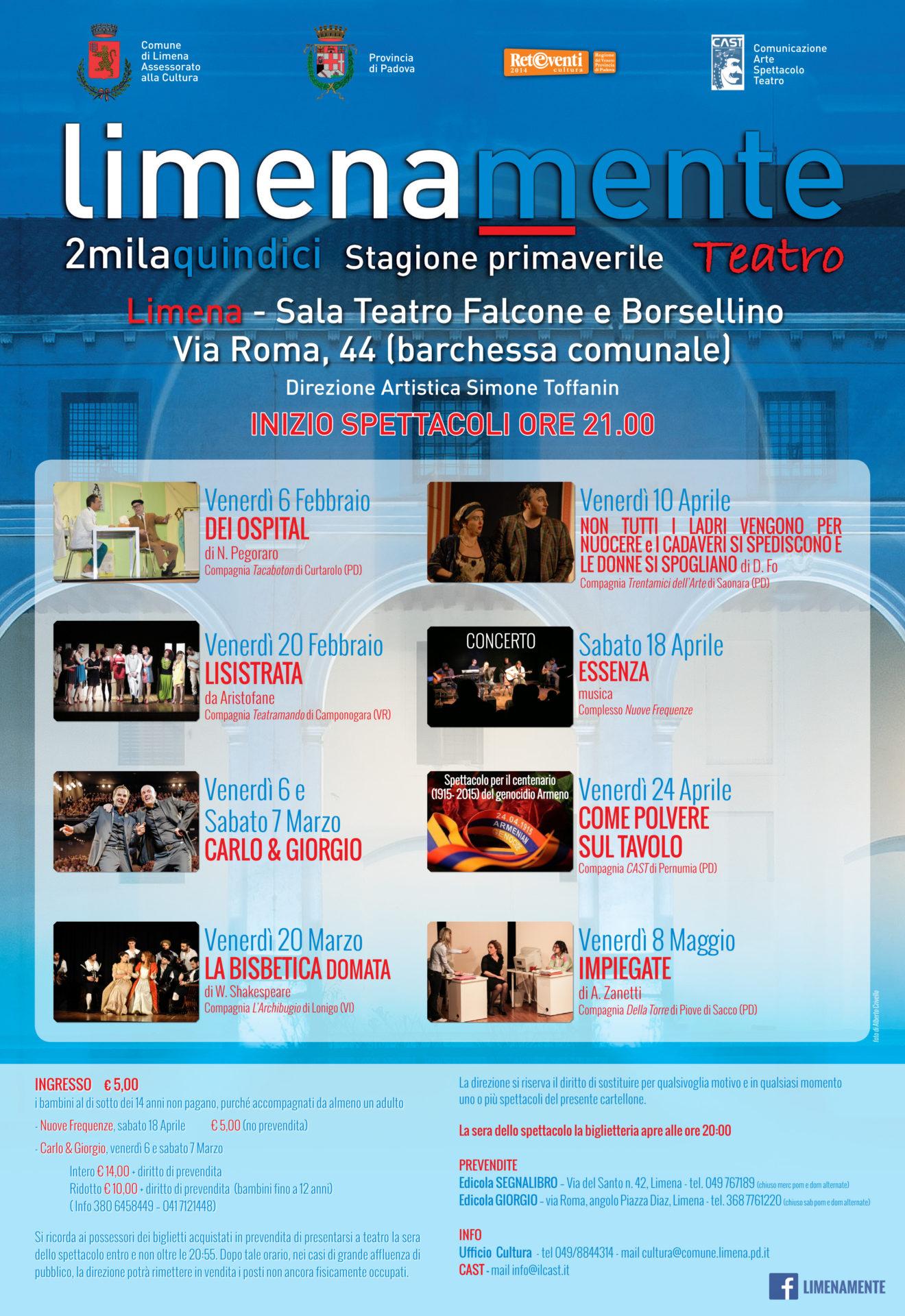 Limenamente Teatro primavera 2015
