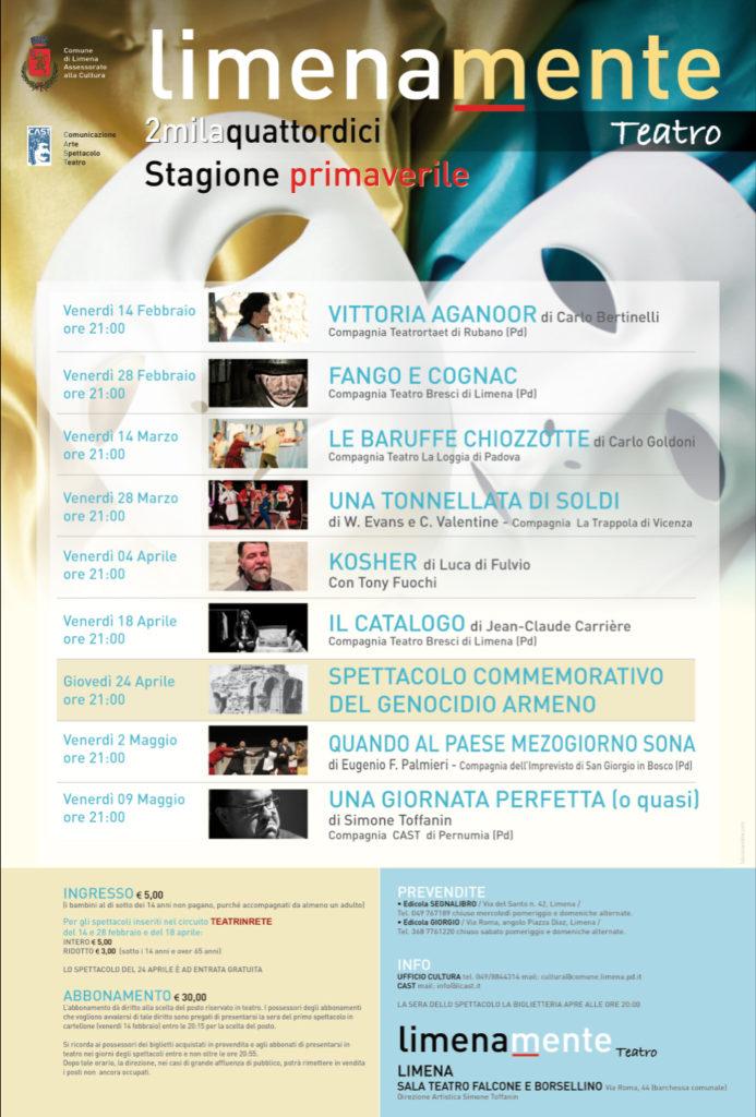 Limenamente Teatro primavera 2014