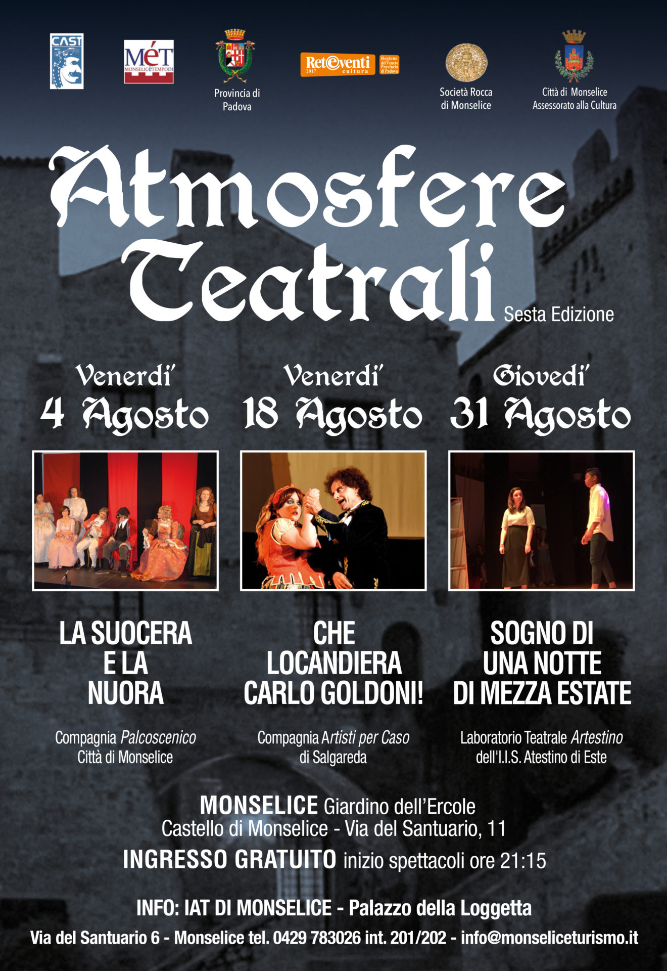 Atmosfere Teatrali 2017