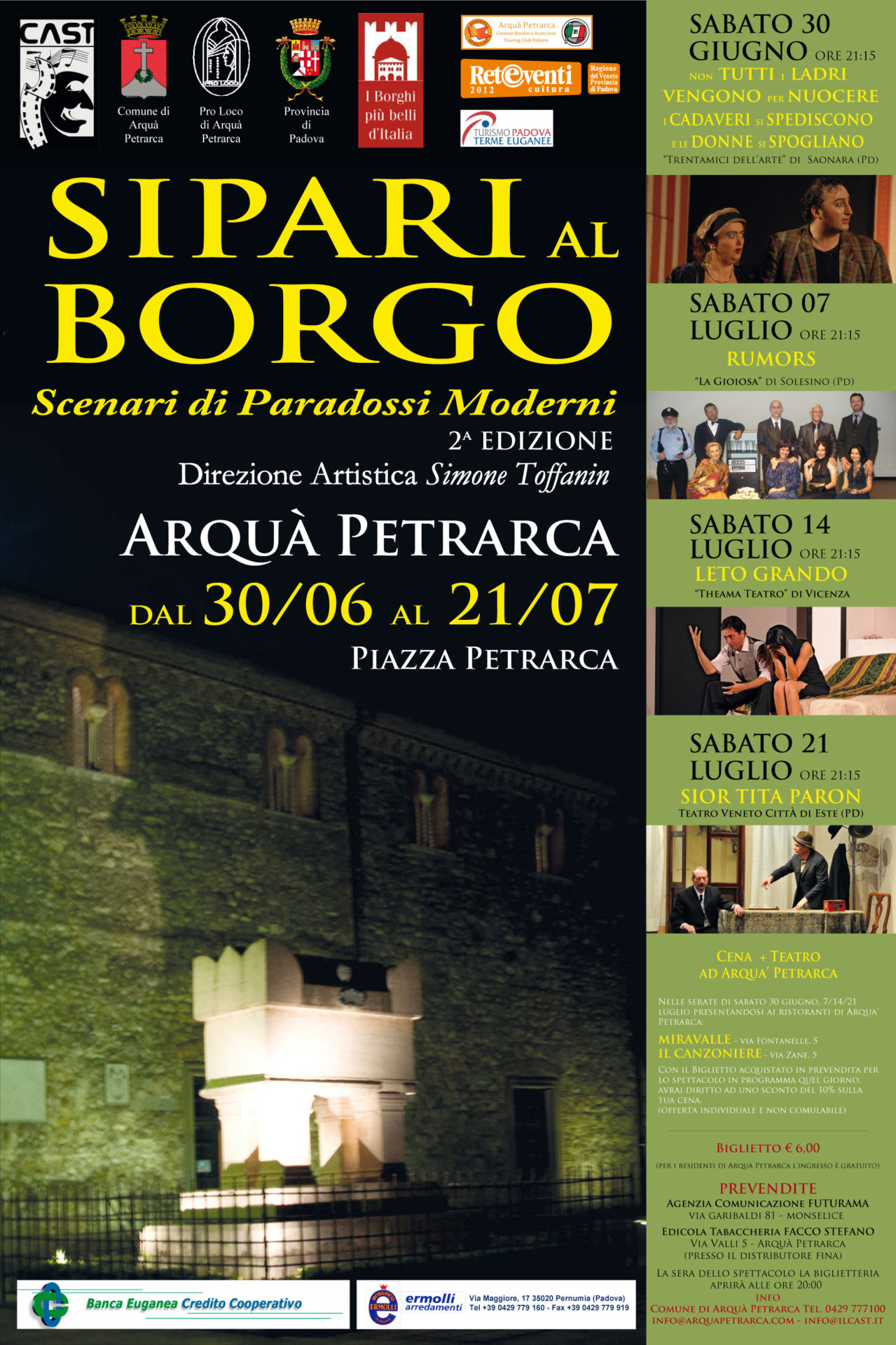 Sipari al Borgo 2012