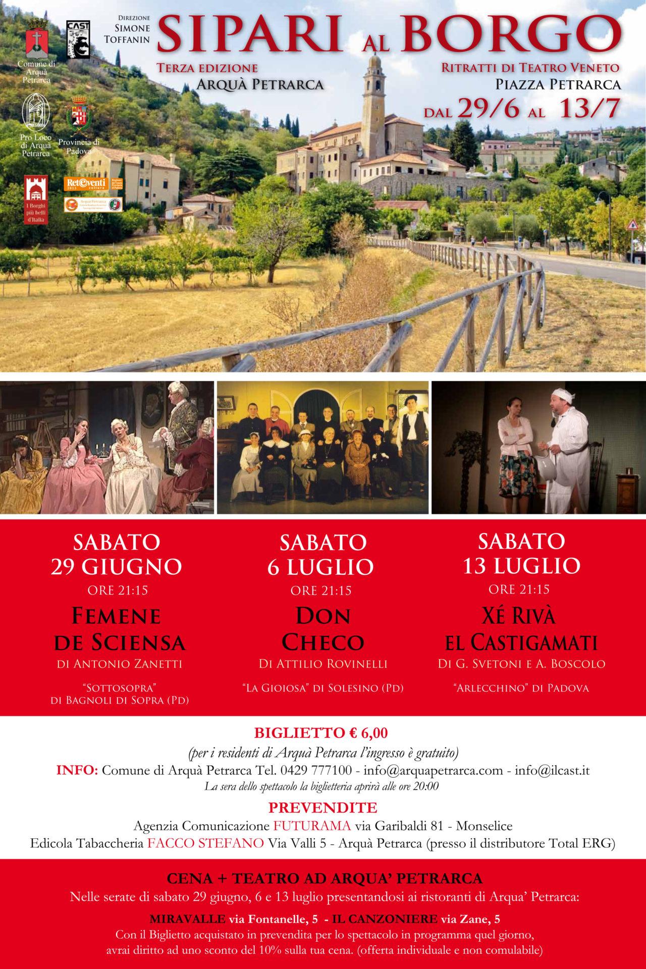 Sipari al Borgo 2013