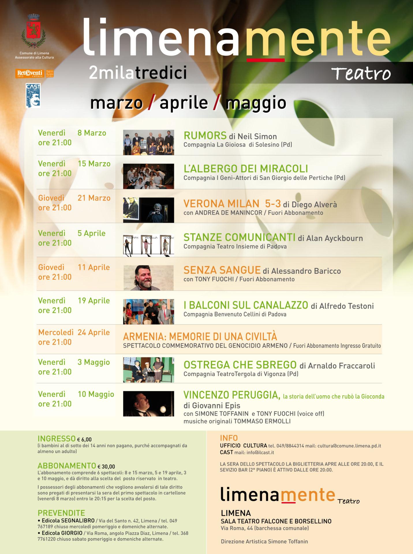 Limenamente Teatro primavera 2013