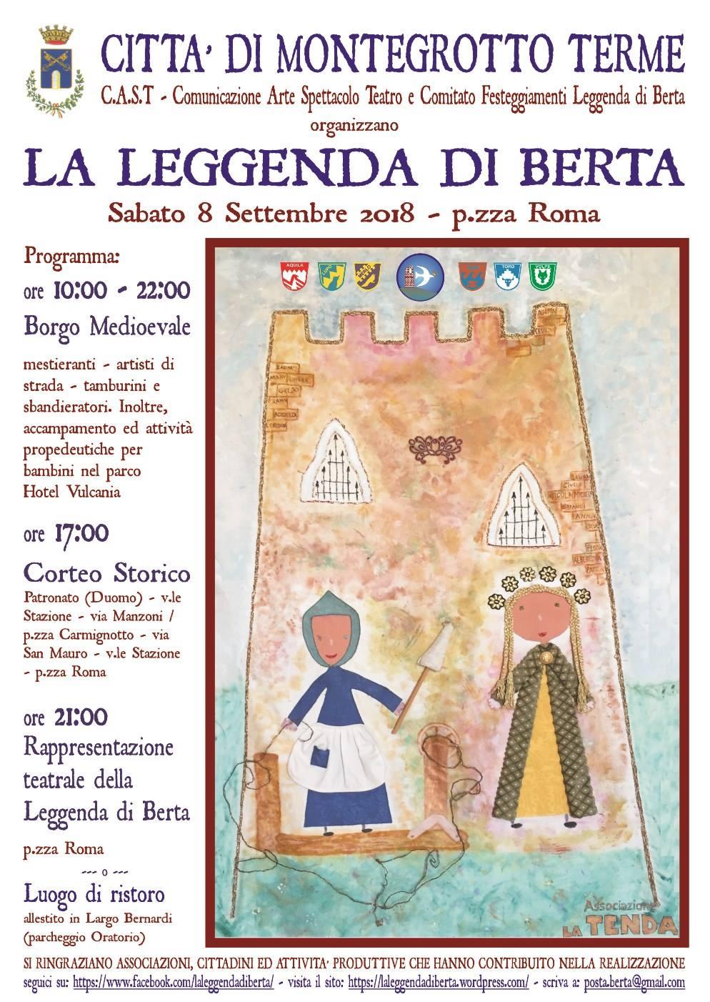 la leggenda di Berta