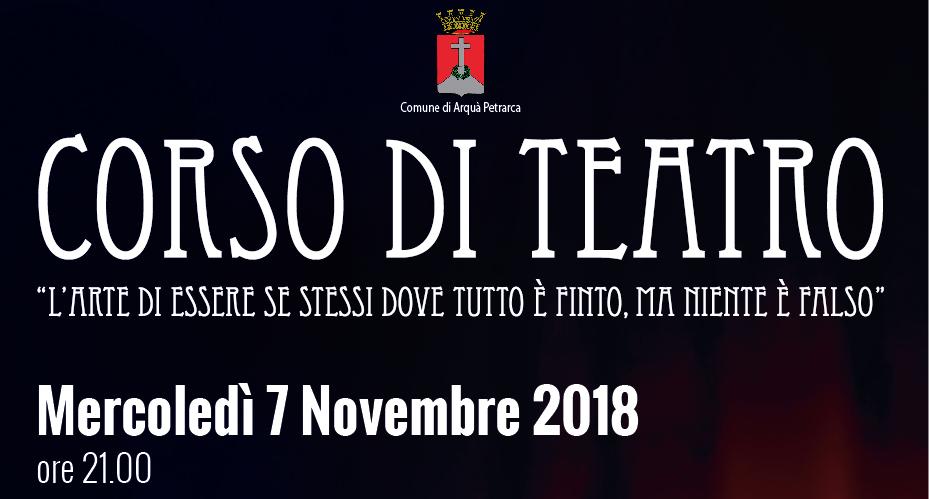 corso di teatro 2018/19