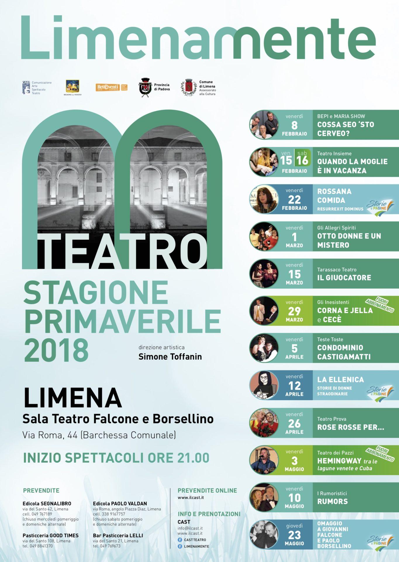 Limenamente Teatro primavera 2019