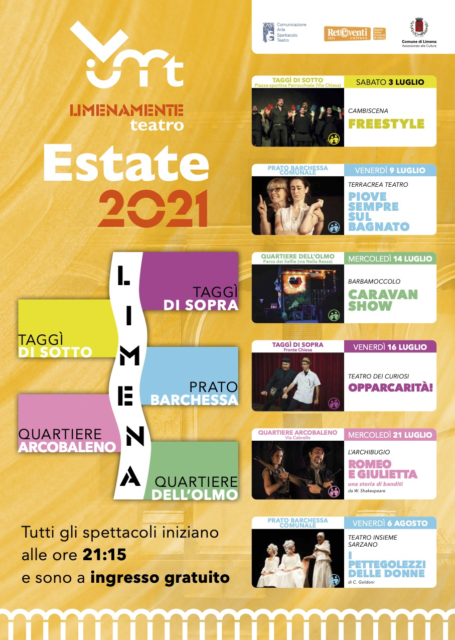 Limenamente Teatro Estate 2021